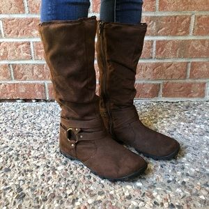 Tall Soft Brown Boots